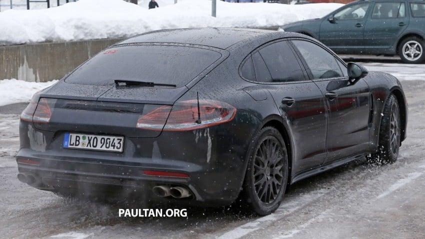 SPYSHOTS: 2017 Porsche Panamera almost camo-free Image #460451