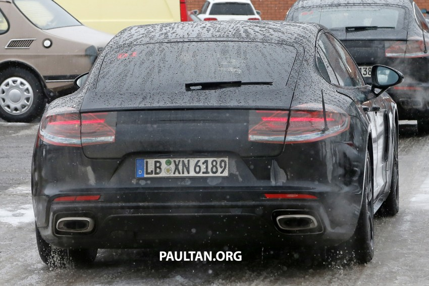 SPYSHOTS: 2017 Porsche Panamera almost camo-free Image #460454