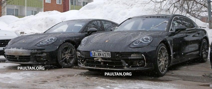 SPYSHOTS: 2017 Porsche Panamera almost camo-free Image #460443