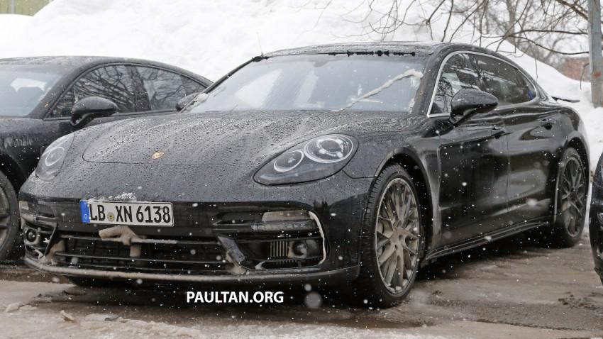 SPYSHOTS: 2017 Porsche Panamera almost camo-free Image #460444