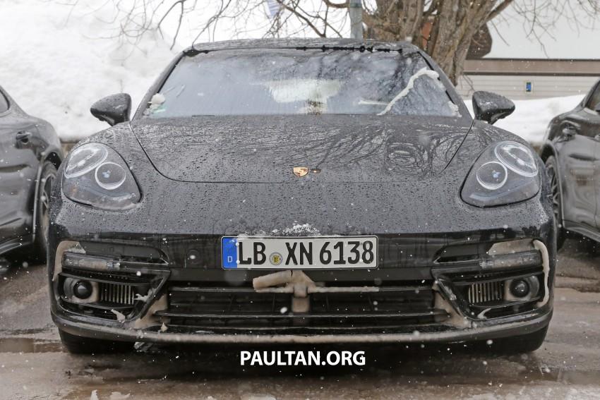 SPYSHOTS: 2017 Porsche Panamera almost camo-free Image #460445