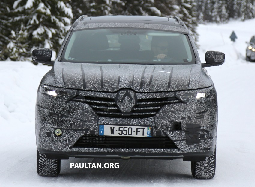 SPIED: Renault Maxthon – Koleos replacement testing Image #459111