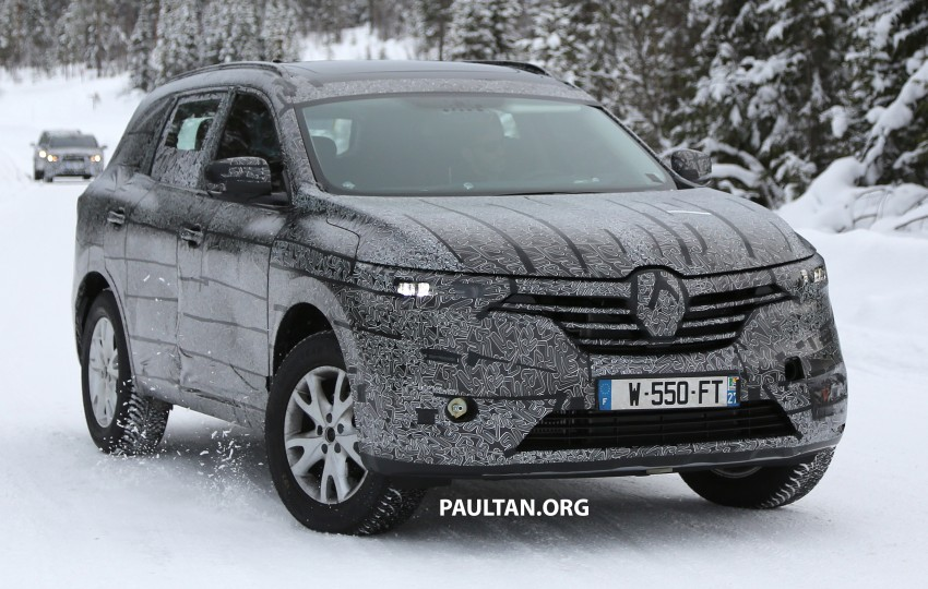 SPIED: Renault Maxthon – Koleos replacement testing Image #459112