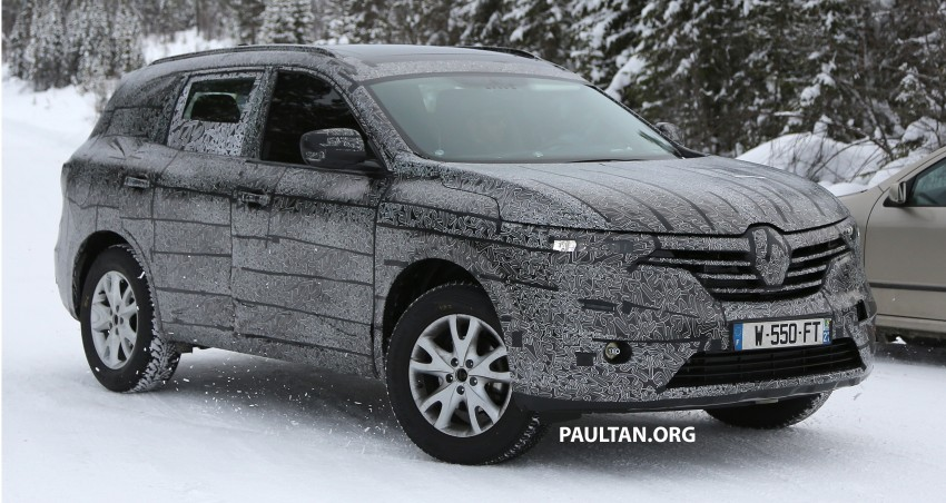 SPIED: Renault Maxthon – Koleos replacement testing Image #459113