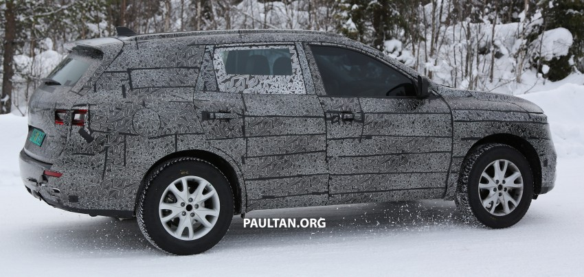 SPIED: Renault Maxthon – Koleos replacement testing Image #459118