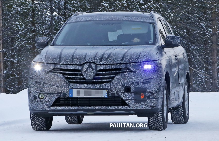 SPIED: Renault Maxthon – Koleos replacement testing Image #459099