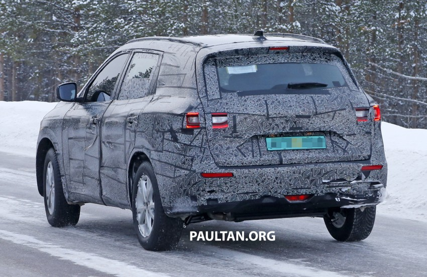 SPIED: Renault Maxthon – Koleos replacement testing Image #459109