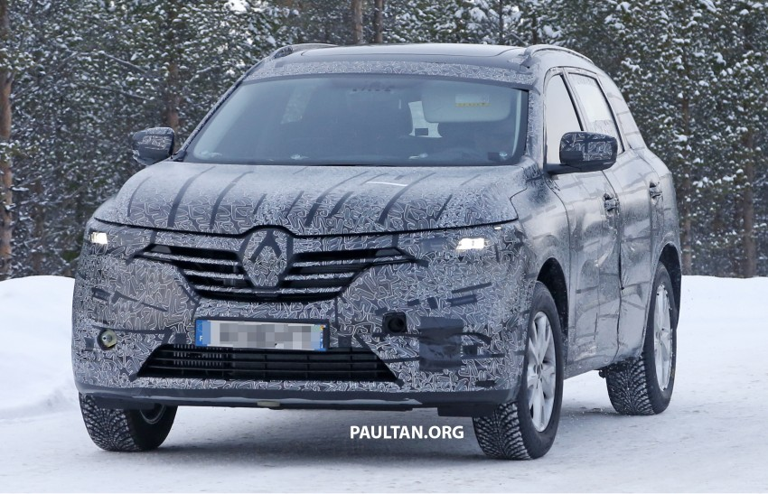 SPIED: Renault Maxthon – Koleos replacement testing Image #459100