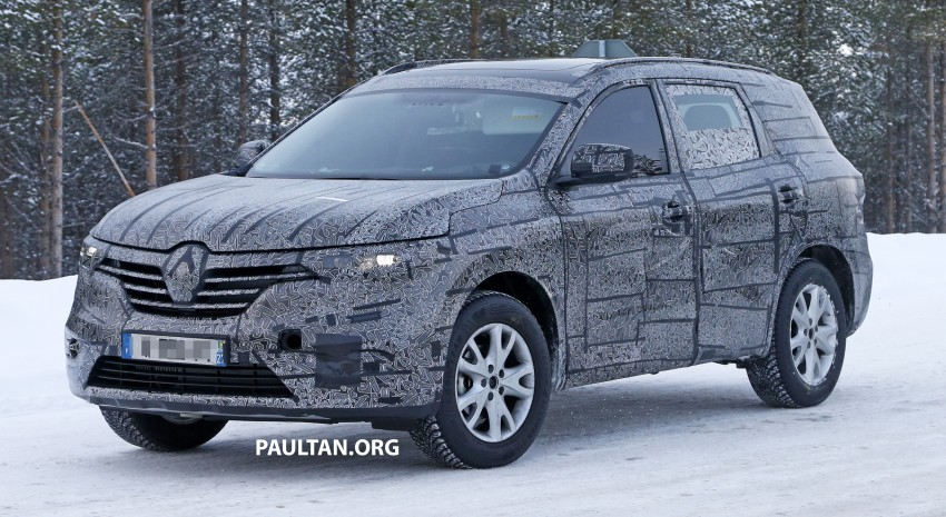 SPIED: Renault Maxthon – Koleos replacement testing Image #459102