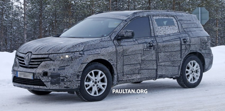 SPIED: Renault Maxthon – Koleos replacement testing Image #459103