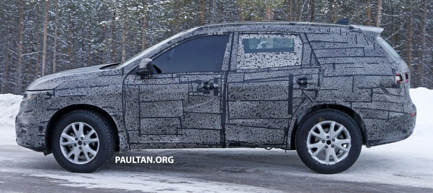 SPIED: Renault Maxthon – Koleos replacement testing Image #459104