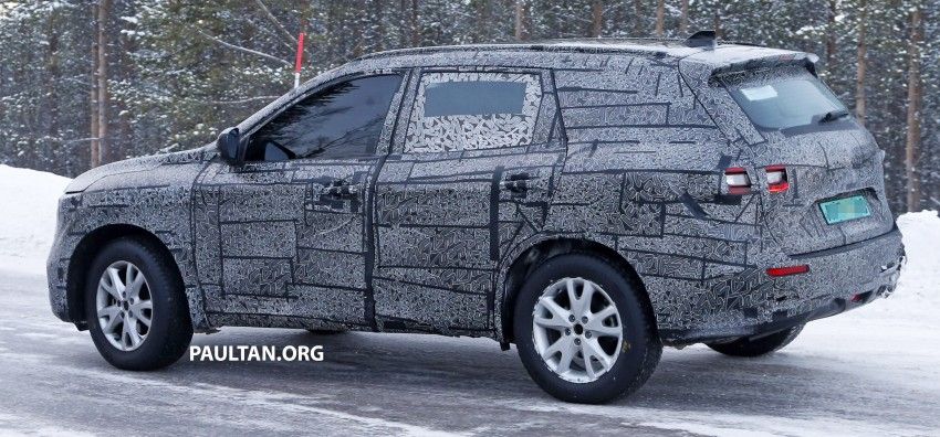 SPIED: Renault Maxthon – Koleos replacement testing Image #459105