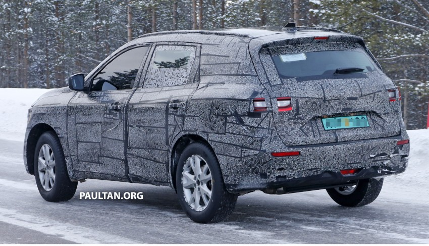 SPIED: Renault Maxthon – Koleos replacement testing Image #459107