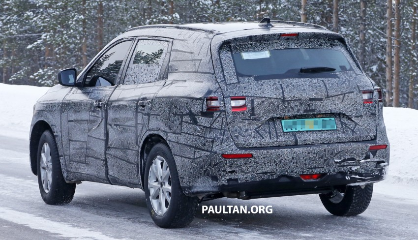 SPIED: Renault Maxthon – Koleos replacement testing Image #459108