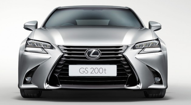 Lexus Gs Facelift Debuts In Malaysia New Gs 200t