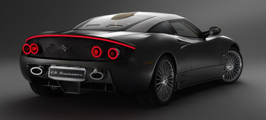 Spyker C8 Preliator – a classic airplane for the road Image #454547