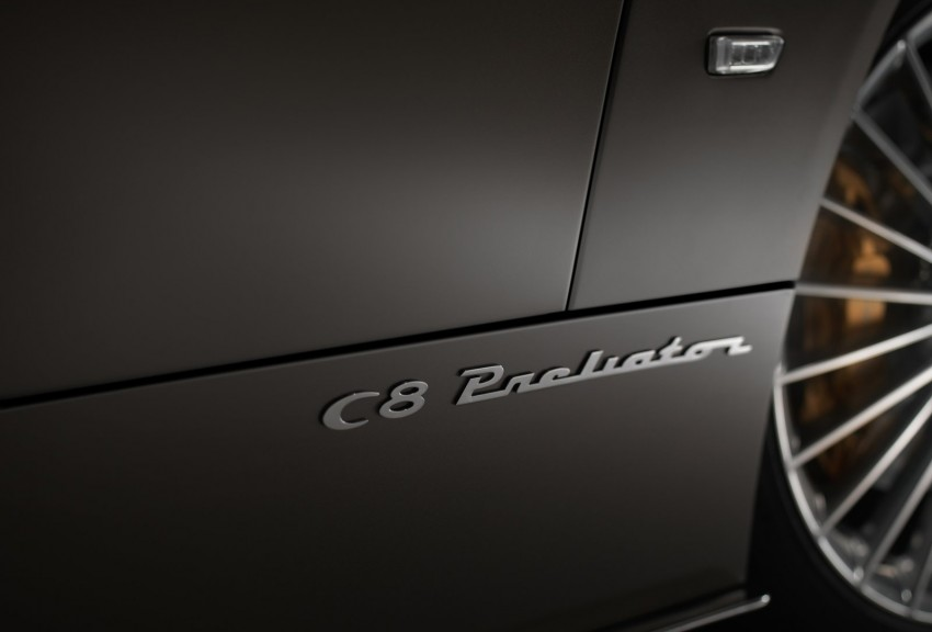Spyker C8 Preliator – a classic airplane for the road Image #454567