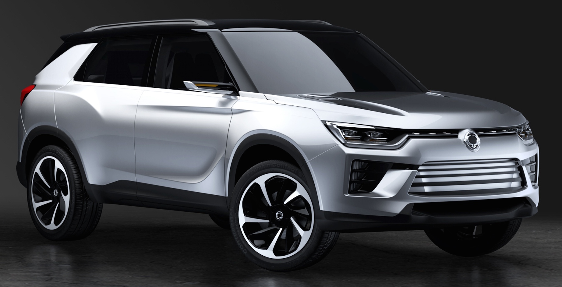 SsangYong SIV-2 Concept previews new midsize SUV