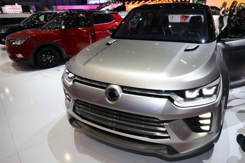 SsangYong SIV-2 Concept previews new midsize SUV Image #453353