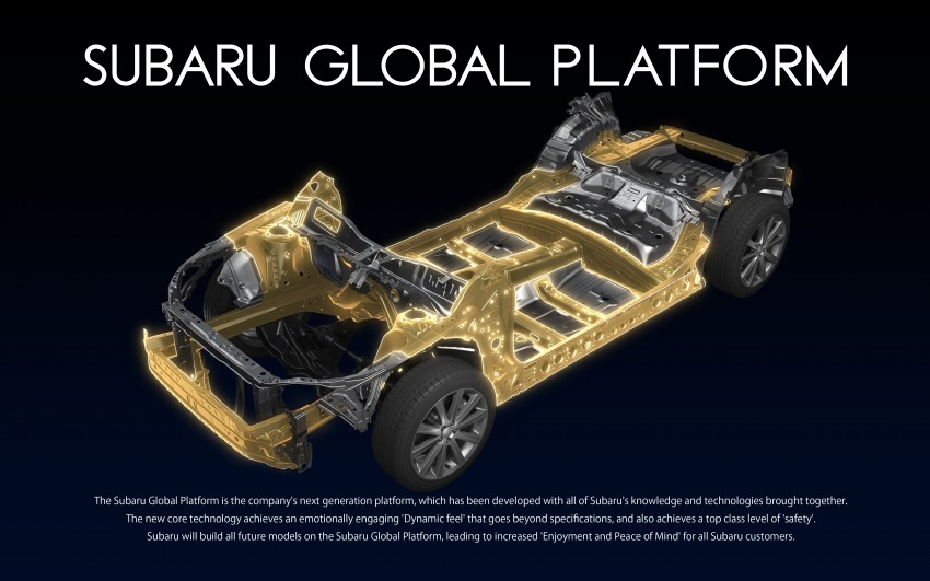 Subaru Global Platform officially unveiled – new architecture to debut in next-generation vehicles Image #455607