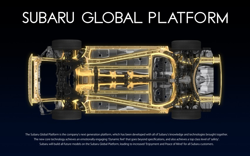 Subaru Global Platform officially unveiled – new architecture to debut in next-generation vehicles Image #455608