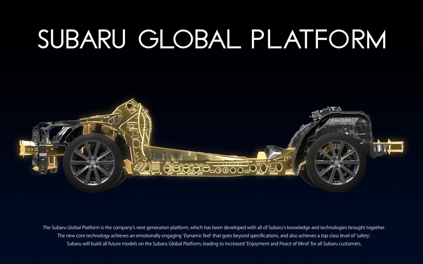 Subaru Global Platform officially unveiled – new architecture to debut in next-generation vehicles Image #455609