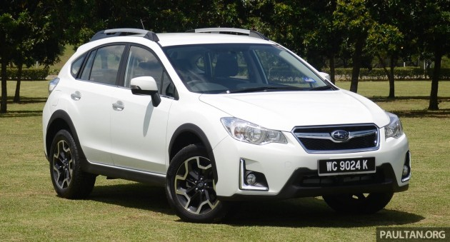 Driven Subaru Xv 2 0i P Is Grunt And Grip Enough