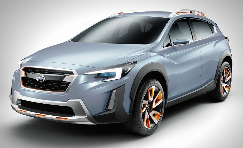 Subaru XV Concept debuts – previews next-gen model Image #452229