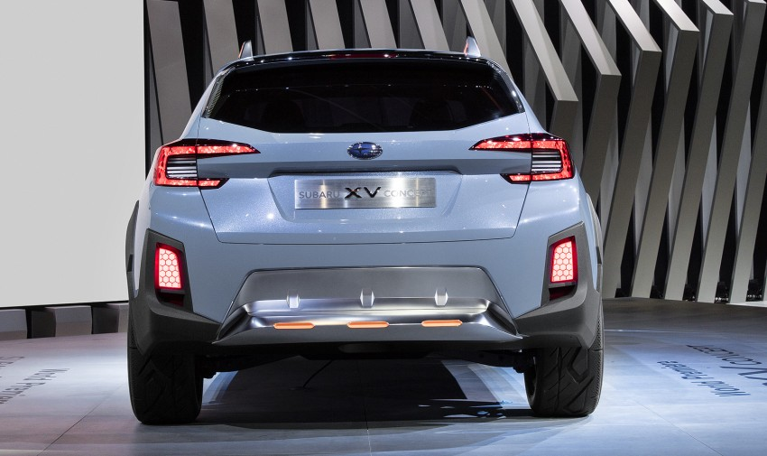 Subaru XV Concept debuts – previews next-gen model Image #452240