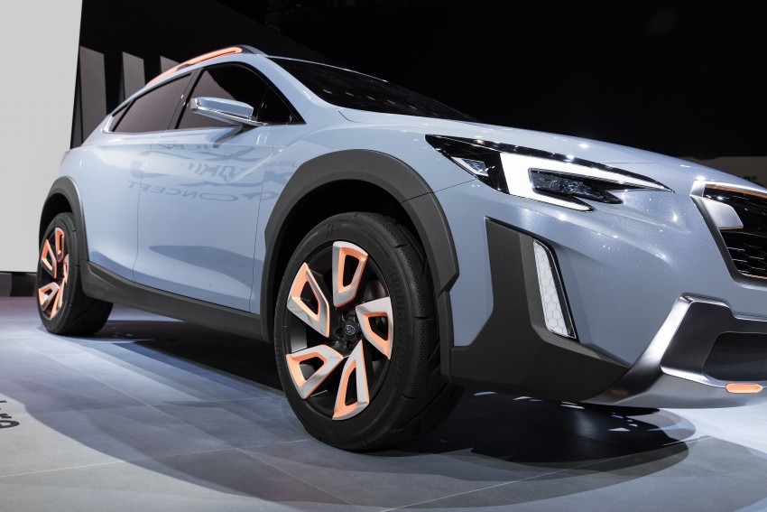 Subaru XV Concept debuts – previews next-gen model Image #452241