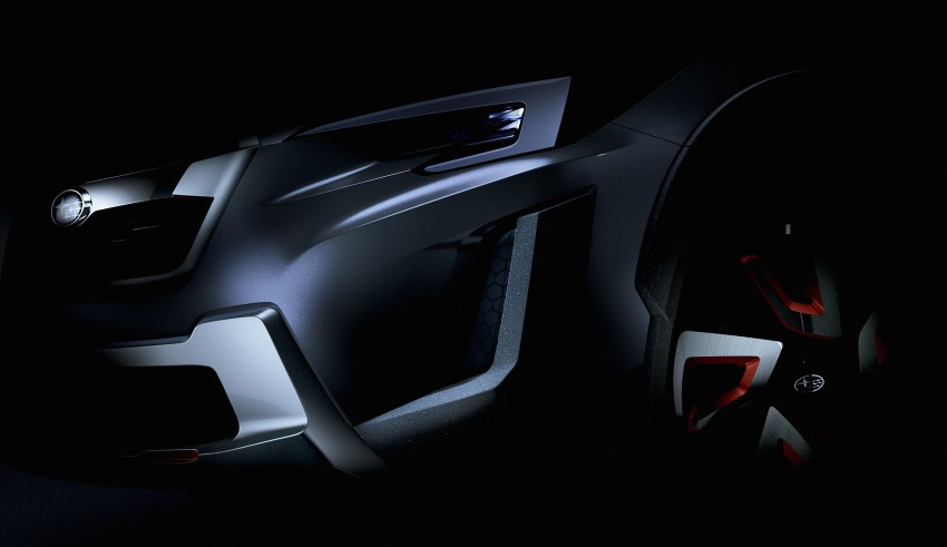 Subaru XV Concept debuts – previews next-gen model Image #452245