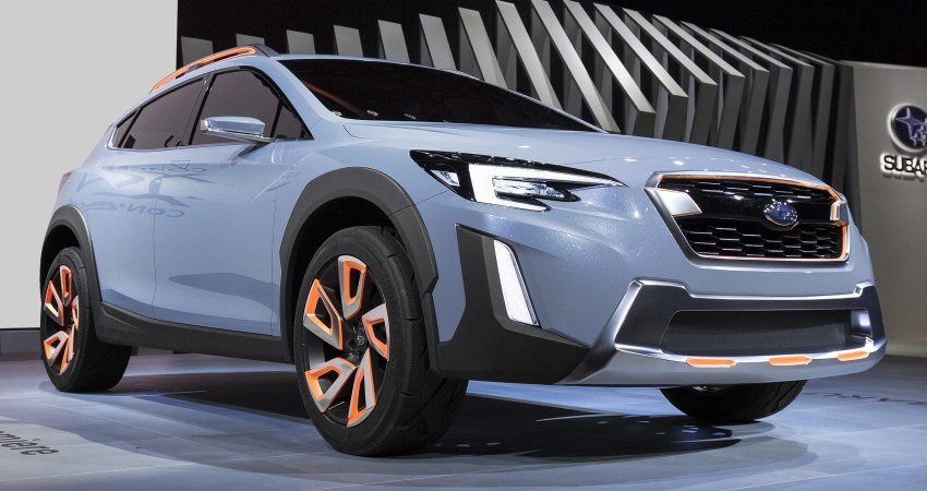 Subaru XV Concept debuts – previews next-gen model Image #452232