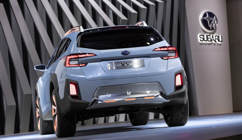 Subaru XV Concept debuts – previews next-gen model Image #452235