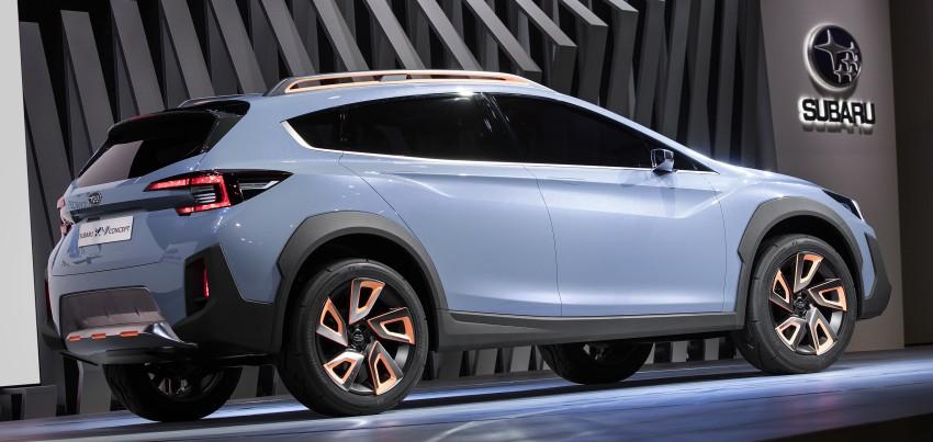 Subaru XV Concept debuts – previews next-gen model Image #452236