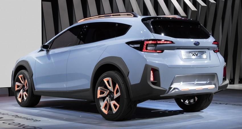 Subaru XV Concept debuts – previews next-gen model Image #452238