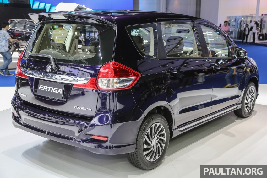 GALLERY: Suzuki Ertiga Dreza on sale in Thailand Image #465214
