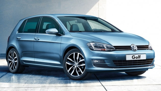 The upgraded Golf 1.4