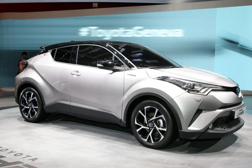 Toyota C-HR – production HR-V rival officially unveiled Image #453003