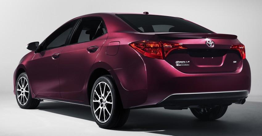 Toyota Corolla 2017 facelift diperkenalkan di USA Image #467085