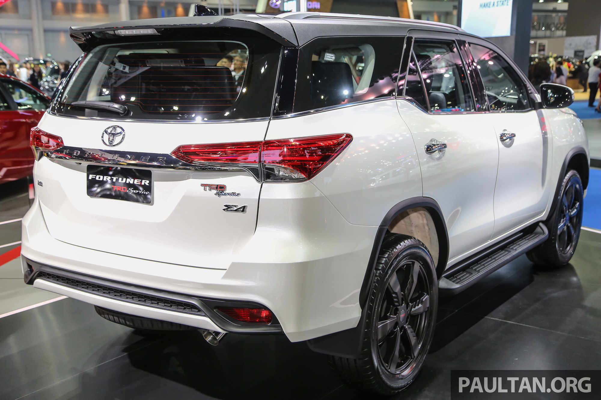 Gallery Toyota Fortuner Trd Sportivo At Bims 2016 Image