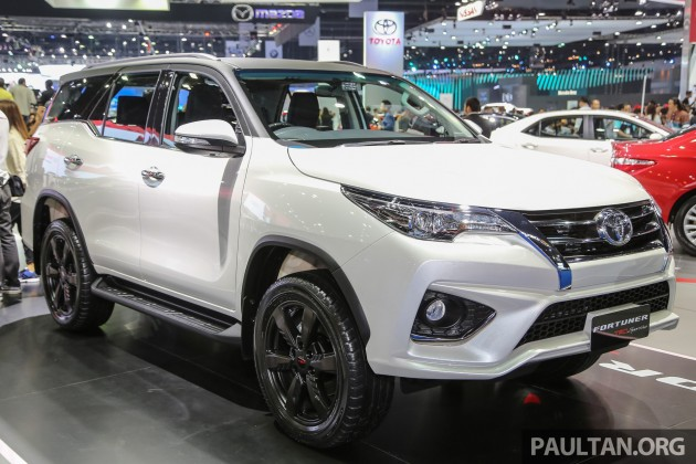 Gallery Toyota Fortuner Trd Sportivo At Bims 2016