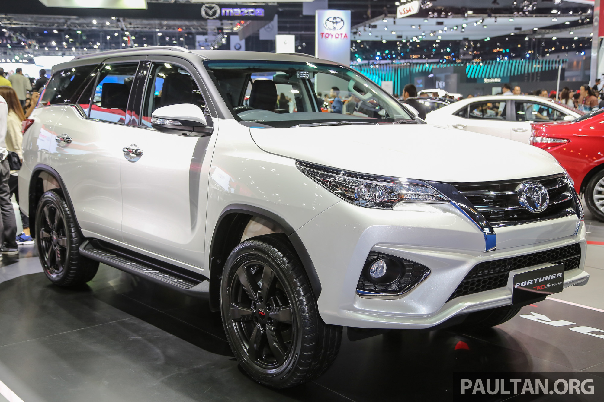GALLERY Toyota Fortuner TRD Sportivo At BIMS 2016 Paul
