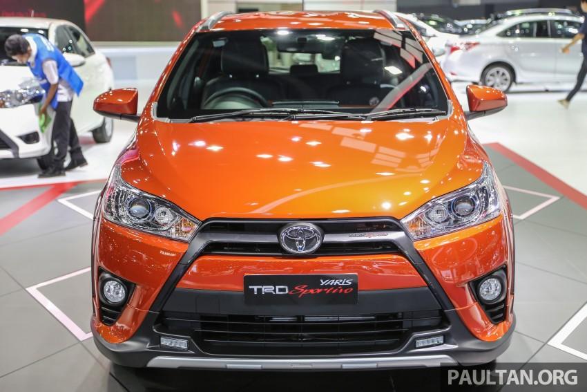 GALLERY: Toyota Yaris TRD Sportivo at Bangkok 2016 Image #465728