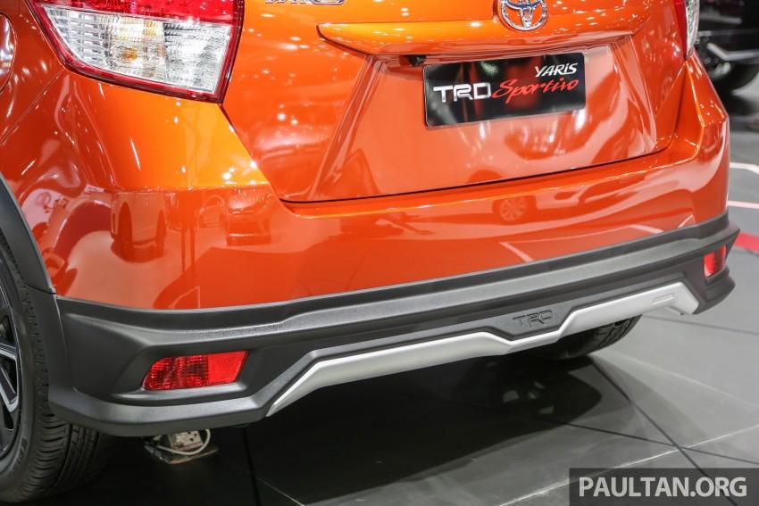 GALLERY: Toyota Yaris TRD Sportivo at Bangkok 2016 Image #465745