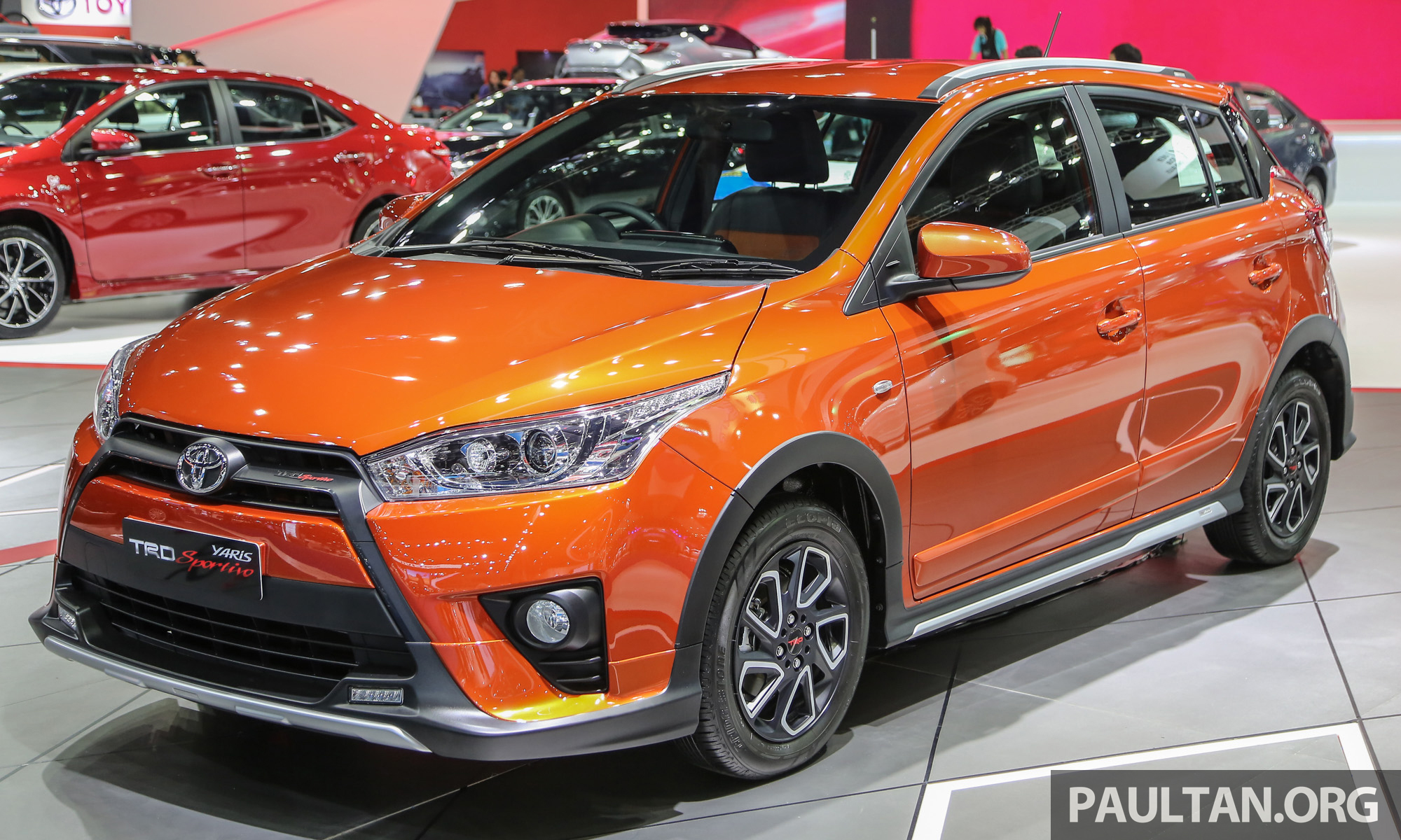 gallery toyota yaris trd sportivo at bangkok 2016. Black Bedroom Furniture Sets. Home Design Ideas