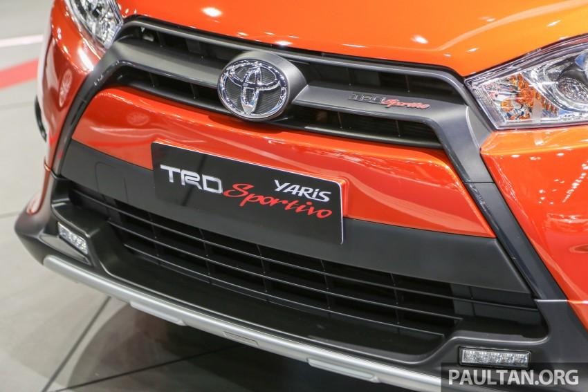 GALLERY: Toyota Yaris TRD Sportivo at Bangkok 2016 Image #465733