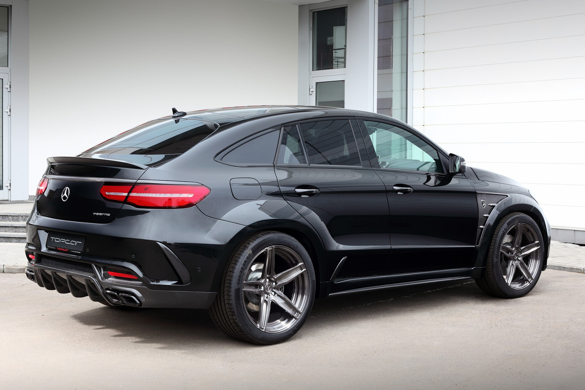 Mercedes Benz Gle Coupe Gets Topcar Styling Kit Paul Tan