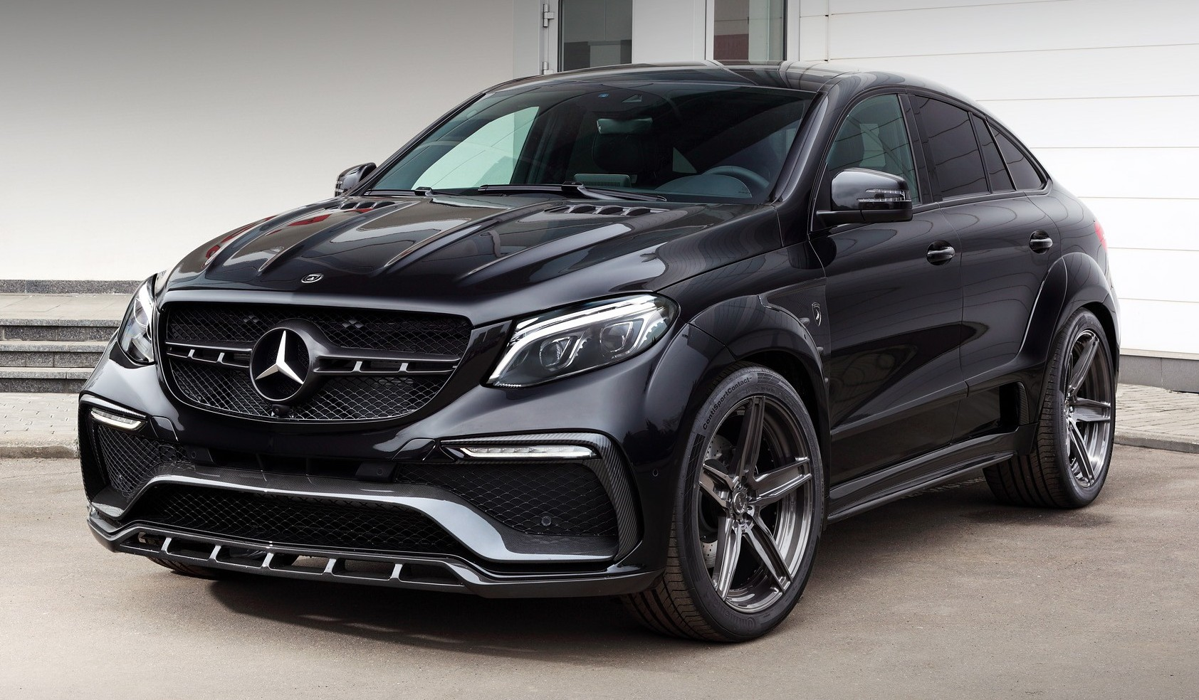 Mercedes benz gle coupe gets topcar styling kit for Mercedes benz exterior car care kit