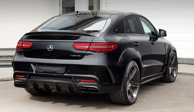 Mercedes Benz Gle Coupe Gets Topcar Styling Kit