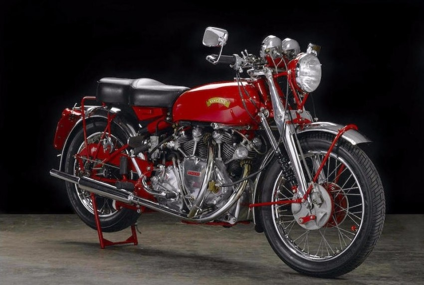 Vincent Series 'C' White Shadow sold for RM1.75 mil Image #467835